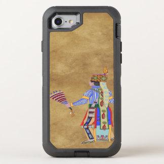 Fan-Tänzer-amerikanischer Ureinwohner OtterBox Defender iPhone 8/7 Hülle