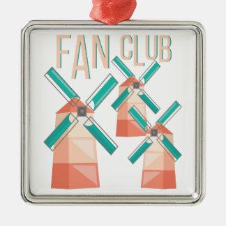 Fanclub Silbernes Ornament