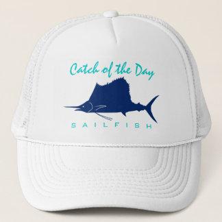 Fang des Tages - Segelfisch-Fischen-Hut Truckerkappe
