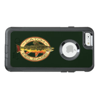 Fang-und Freigabe-Bachforelle-Fischen OtterBox iPhone 6/6s Hülle