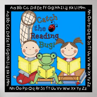 Fangen Sie das Lesewanzen-Klassenzimmer-Plakat Poster