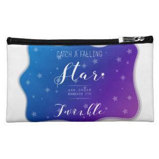 Fangen Sie einen fallenden Stern Makeup-Tasche