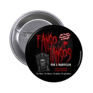 Fango Tango-Vampirs-Nachtklub Runder Button 5,7 Cm
