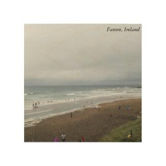 Fanore, Irland Holzleinwand