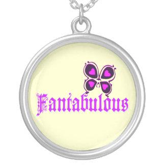 ♔Fantabulous Romantisch-Schmetterling Silber Versilberte Kette