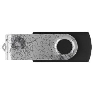 Fantasie-Blume USB-Blitz-Antrieb USB Stick