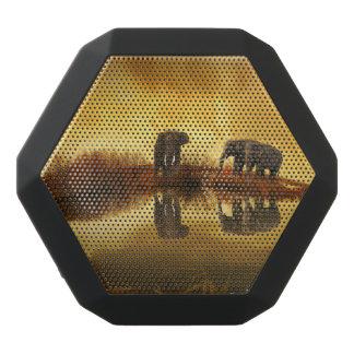 Fantasie-Elefant Schwarze Bluetooth Lautsprecher