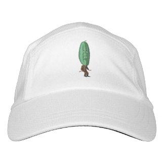 Fantasie-Essiggurken-Mann-Brown-Anzug Headsweats Kappe