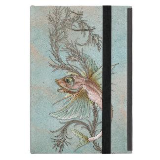 Fantasie-Fisch-Kunst Nouveau iPad Mini Schutzhülle