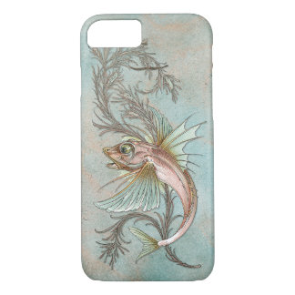 Fantasie-Fisch-Kunst Nouveau iPhone 7 Hülle