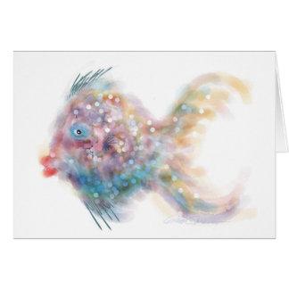 Fantasie-Fische: Lucy Karte