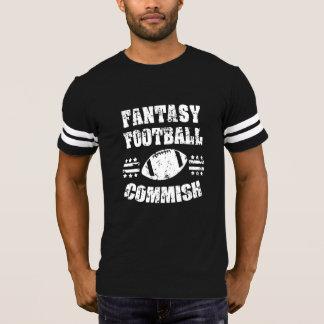 Fantasie-Fußball Commish das Shirt lustiger Männer