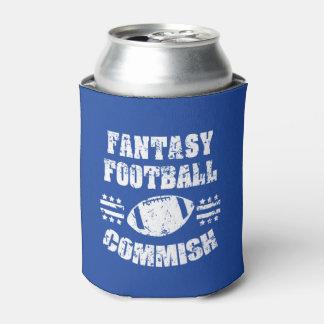 Fantasie-Fußball Commish lustige Dose cooler Dosenkühler