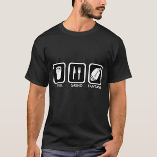 Fantasie-Fußball Hawaii (dunkel) T-Shirt