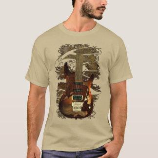 Fantasie-Gewohnheits-E-Gitarre T-Shirt