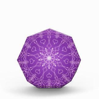 Fantasie Goth Mandala-Engels-Gott-Kristallball Acryl Auszeichnung