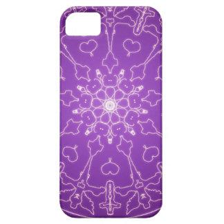 Fantasie Goth Mandala-Engels-Gott-Kristallball Barely There iPhone 5 Hülle