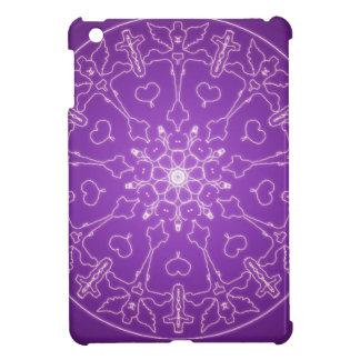 Fantasie Goth Mandala-Engels-Gott-Kristallball iPad Mini Hülle
