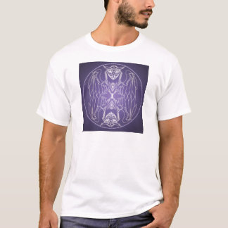 Fantasie Goth Mandala Griffon Kristallball T-Shirt