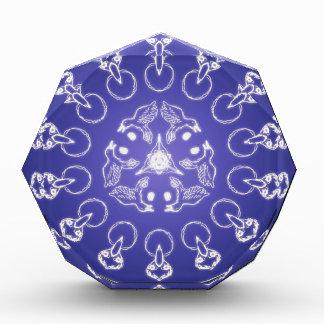 Fantasie Goth Mandala-Raben-Krähen-Kristallball Acryl Auszeichnung