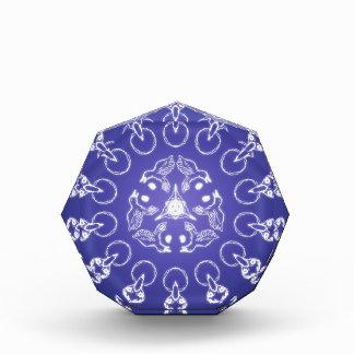 Fantasie Goth Mandala-Raben-Krähen-Kristallball Auszeichnung