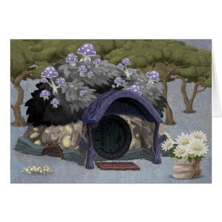 Fantasie-Hütte im Wald Karte