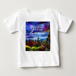 Fantasie ist ein leistungsfähiges Werkzeug Baby T-shirt