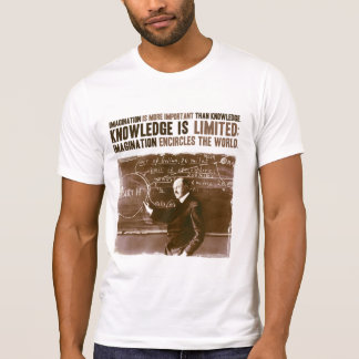 Fantasie ist wichtiger als Wissen T-Shirt