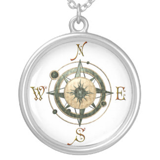 Fantasie-(keltischer) Kompass-Entwurf Amulett