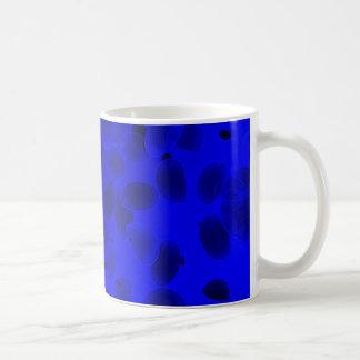 Fantasie-Kiesel im Blau Kaffeetasse