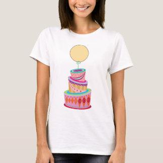 Fantasie-Kuchen-Schablone T-Shirt