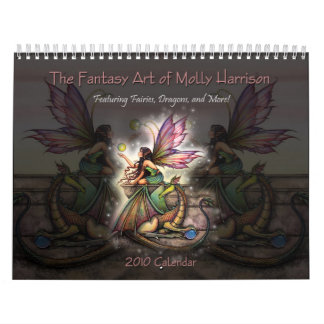Fantasie-Kunst-Kalender 2010 Mollys Harrison Wandkalender