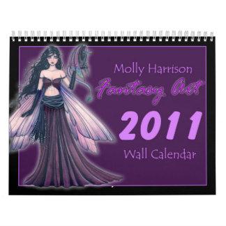 Fantasie-Kunst-Kalender 2011 Mollys Harrison Kalender