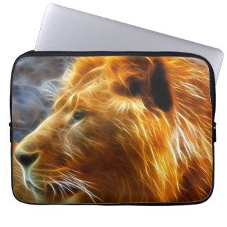Fantasie-Löwelaptophülse Laptopschutzhülle