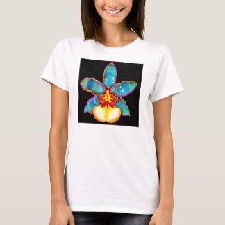 Fantasie-Orchideen-Blumen-T-Shirt T-Shirt