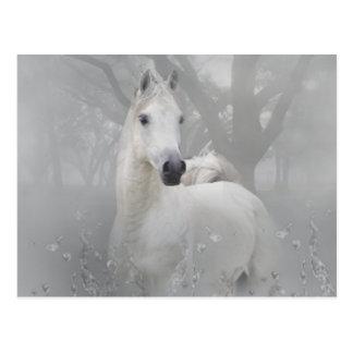 Fantasie-Pferd Postkarte