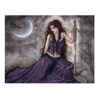 Fantasie-Postkarte Morgan le Fay