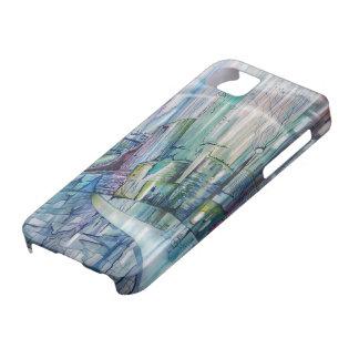 Fantasie romantischer blauer Iphone 5 Kasten iPhone 5 Case