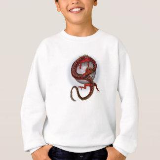 Fantasie-Rot-Drache Sweatshirt