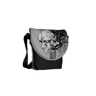 Fantasie-Schädel Kurier Tasche