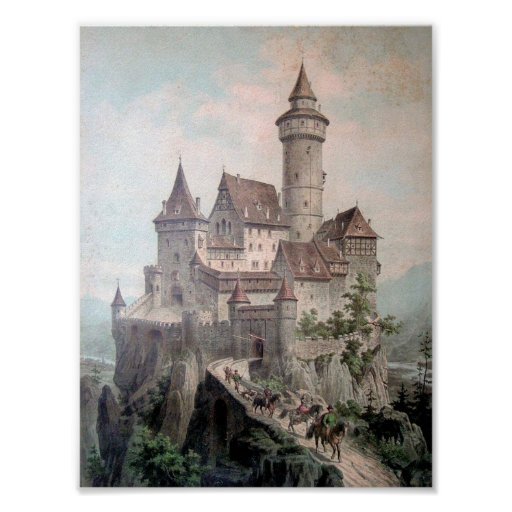 Fantasie-Schloss Poster