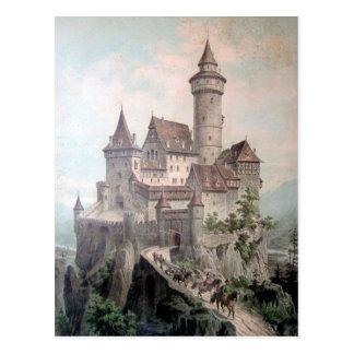 Fantasie-Schloss Postkarte