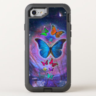 Fantasie-Schmetterling OtterBox Defender iPhone 8/7 Hülle