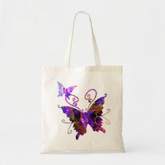 Fantasie-Schmetterlinge Tragetasche