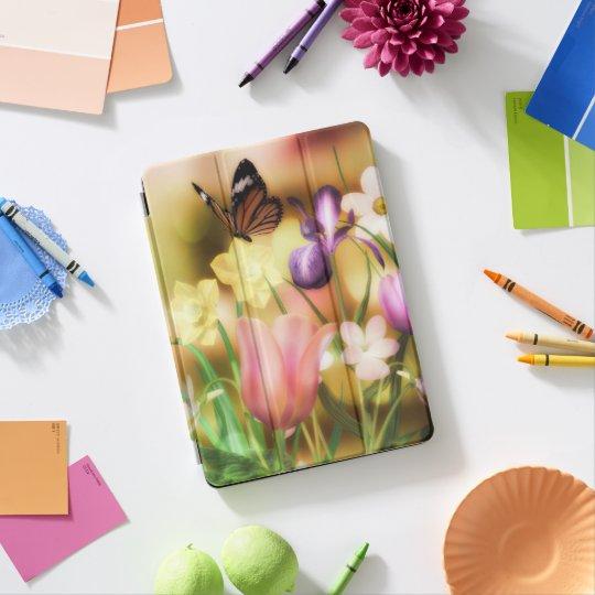 Fantasie-Schmetterlingsgarten iPad Profall iPad Pro Hülle