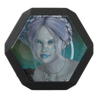 Fantasie-Schnee-Fee Schwarze Bluetooth Lautsprecher