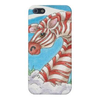 Fantasie-Schneezebra-Zuckerstange-Kunst iPhone 5 Schutzhüllen
