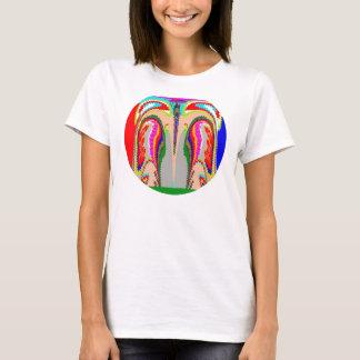 Fantasie-Soul-Geist-Verbindungs-Frauen grundlegend T-Shirt