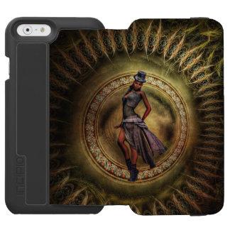 Fantasie Steampunk Dame B Incipio Watson™ iPhone 6 Geldbörsen Hülle