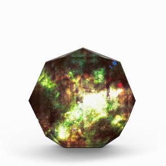 Fantasie-sternenklarer Wald 6 Acryl Auszeichnung